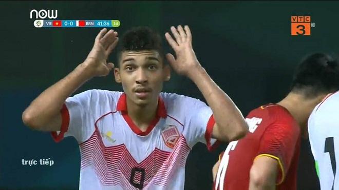 Cầu thủ U23 Bahrain bị mắng là 'ngây thơ' với chiếc thẻ đỏ do đá xấu với Văn Thanh