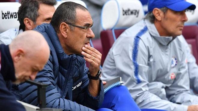 Maurizio Sarri thừa nhận Chelsea còn thua kém Liverpool