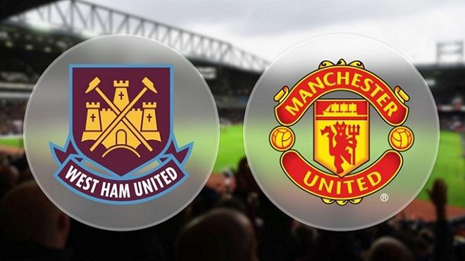 TRỰC TIẾP West Ham 0-0 M.U: Pogba và Lukaku đá chính. Sanchez vắng mặt (Hiệp 1)