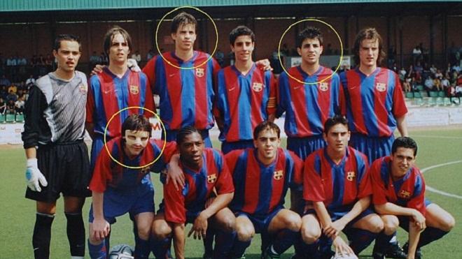 Những ngôi sao thuộc 'thế hệ 87' của Barca giờ ra sao?