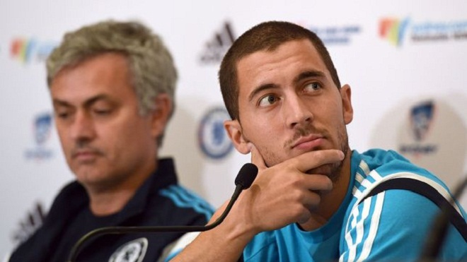 Hazard bất ngờ phát biểu gây sốc về Mourinho