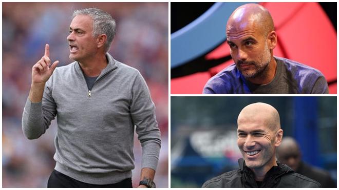 M.U: Mourinho nên 'bắt chước' Zidane và Pep Guardiola