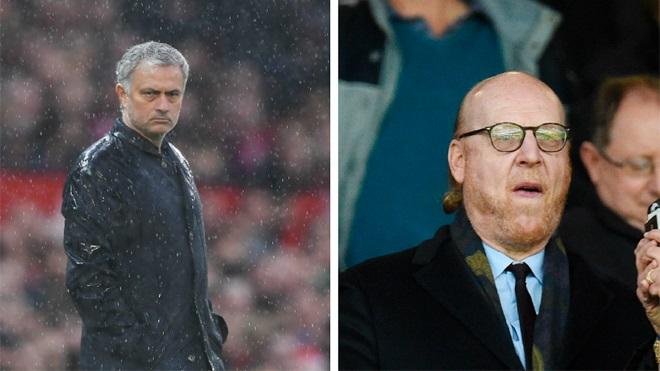 Nhà Glazer vẫn ủng hộ Mourinho vì không có nhiều ứng viên thích hợp
