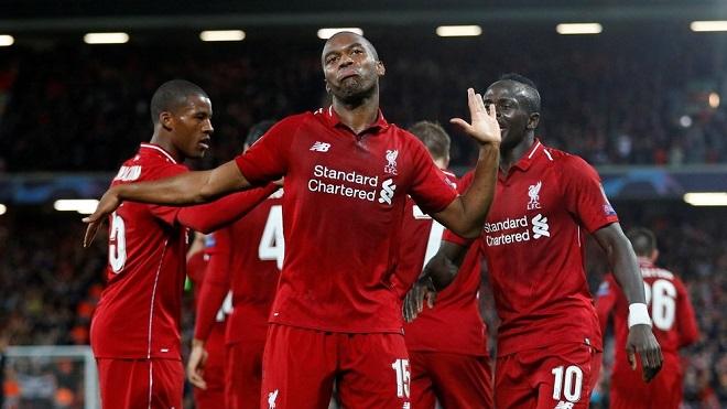 Video bàn thắng Liverpool 4-1 Cardiff City