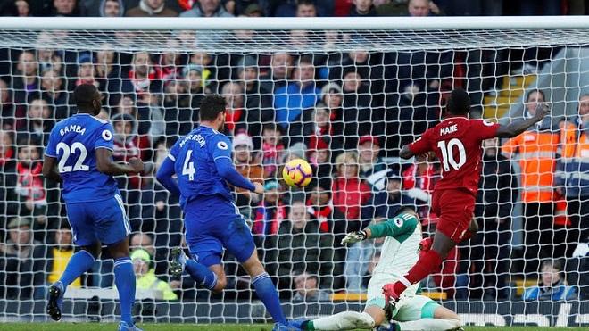 Video Liverpool 4-1 Cardiff: Ngày của Salah và Mane