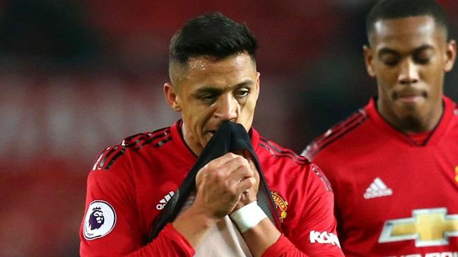 Vận đen của Sanchez: Không được ra sân ở Champions League, nghỉ luôn trận gặp Arsenal