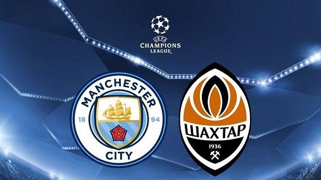 Link xem trực tiếp Man City vs Shakhtar Donetsk (3h00, 18/11)