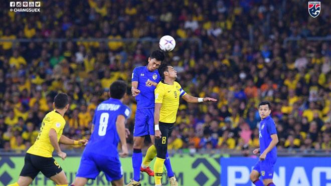 Malaysia 0-0 Thái Lan: Người Mã lại đá hay nhưng vô duyên