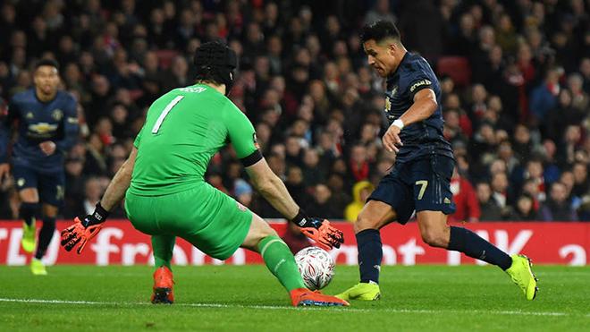 VIDEO Arsenal 1-3 M.U: Sanchez ghi bàn, Lukaku kiến tạo, 'Quỷ đỏ' vào vòng 5 FA Cup