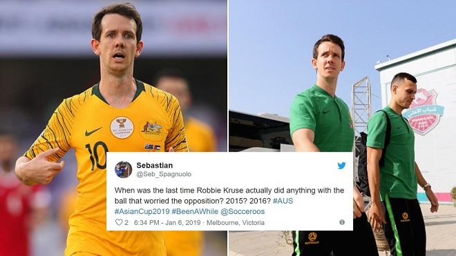 Tiền đạo ngôi sao Australia bị mắng là 'kẻ tàng hình' sau trận thua sốc Jordan
