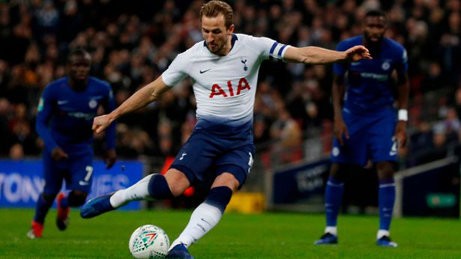 Tottenham 1-0 Chelsea: Kane lập công, Spurs đặt một chân vào chung kết League Cup