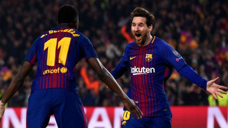 TRỰC TIẾP Sevilla 1-1 Barca (Hiệp 1): Messi gỡ hòa cho đội khách