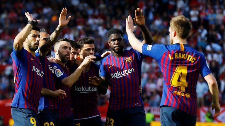 TRỰC TIẾP Sevilla 2-3 Barca (Hiệp 2): Messi hoàn tất hat-trick