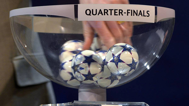 Bốc thăm tứ kết Champions League: Diễn ra lúc nào, xem trực tiếp ở đâu?