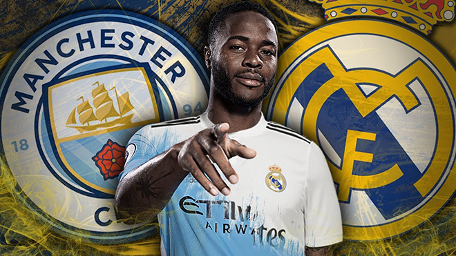 Zidane quyết mua Sterling để đại cách mạng Real Madrid