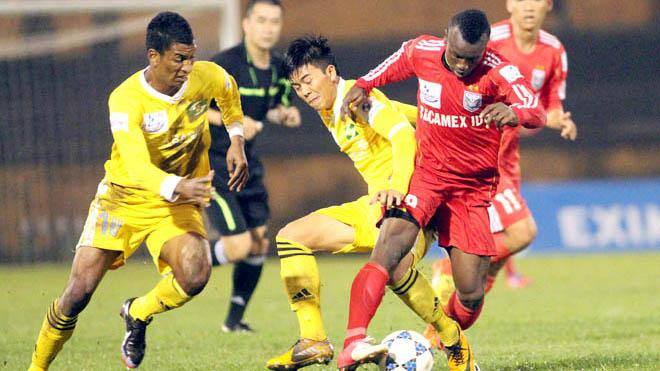 SLNA hạ Bình Dương 2-1, Hà Đức Chinh giữ lại 1 điểm cho SHB Đà Nẵng trước Quảng Nam