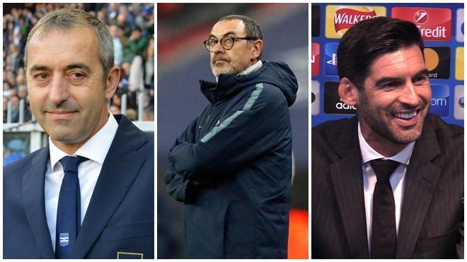 Serie A biến động: Juventus, Roma, Milan ráo riết tìm HLV mới