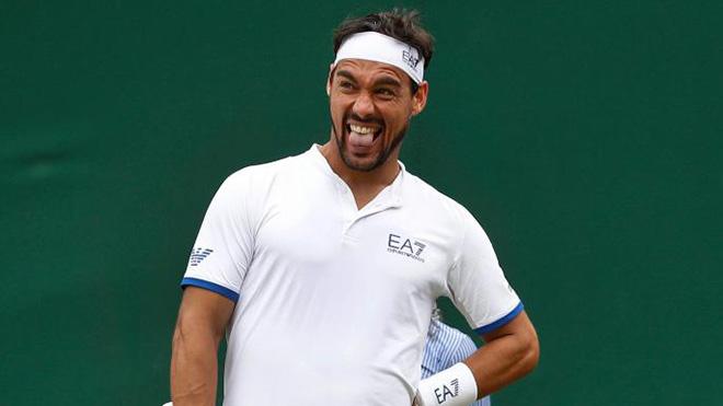 Tay vợt Italy gây sốc khi tuyên bố muốn 'bom nổ tại Wimbledon' vì thua trận
