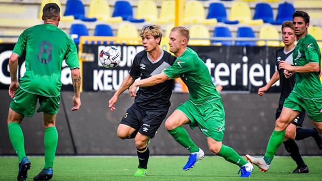 công phượng, Sint-Truidense, công phượng ra mắt Sint-Truidense, giải vđqg bỉ, giải vô địch bỉ, Jupiler Pro League, công phượng ra mắt giải bỉ, trực tiếp bóng đá, bong da