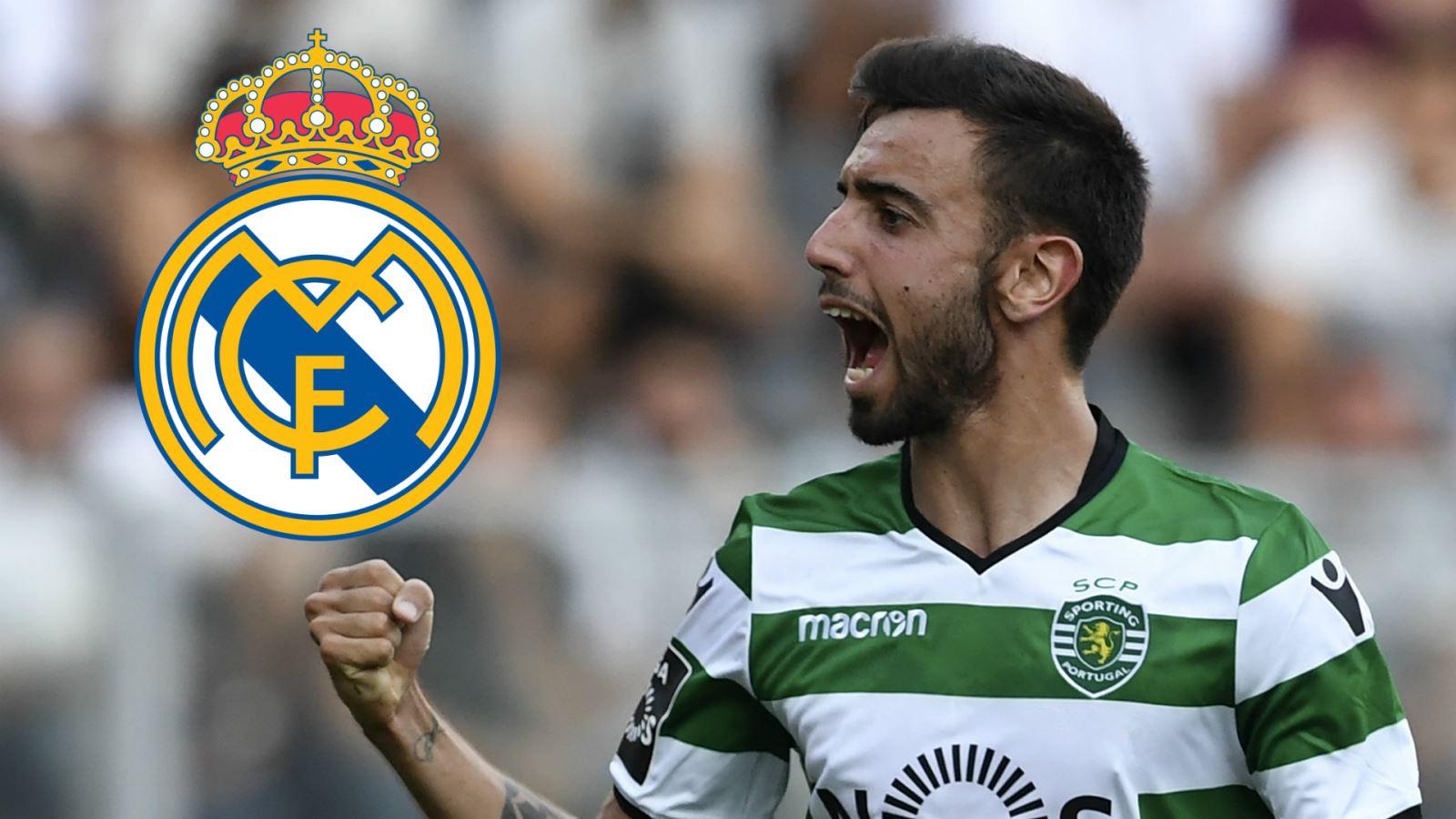 MU và Tottenham chú ý! Real đã gia nhập cuộc đua giành Bruno Fernandes
