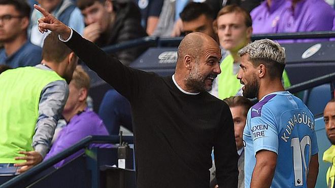 Man City: Guardiola nói gì sau khi tranh cãi nảy lửa với Aguero?