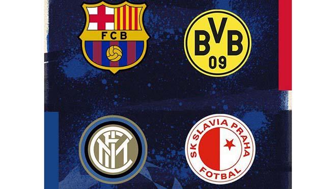 Cúp C1, Kết quả bốc thăm cúp C1 châu Âu, bốc thăm vòng bảng C1, bốc thăm Champions League, bảng tử thần, Barca, Dortmund, Inter, bong da, lich thi dau bong da hom nay