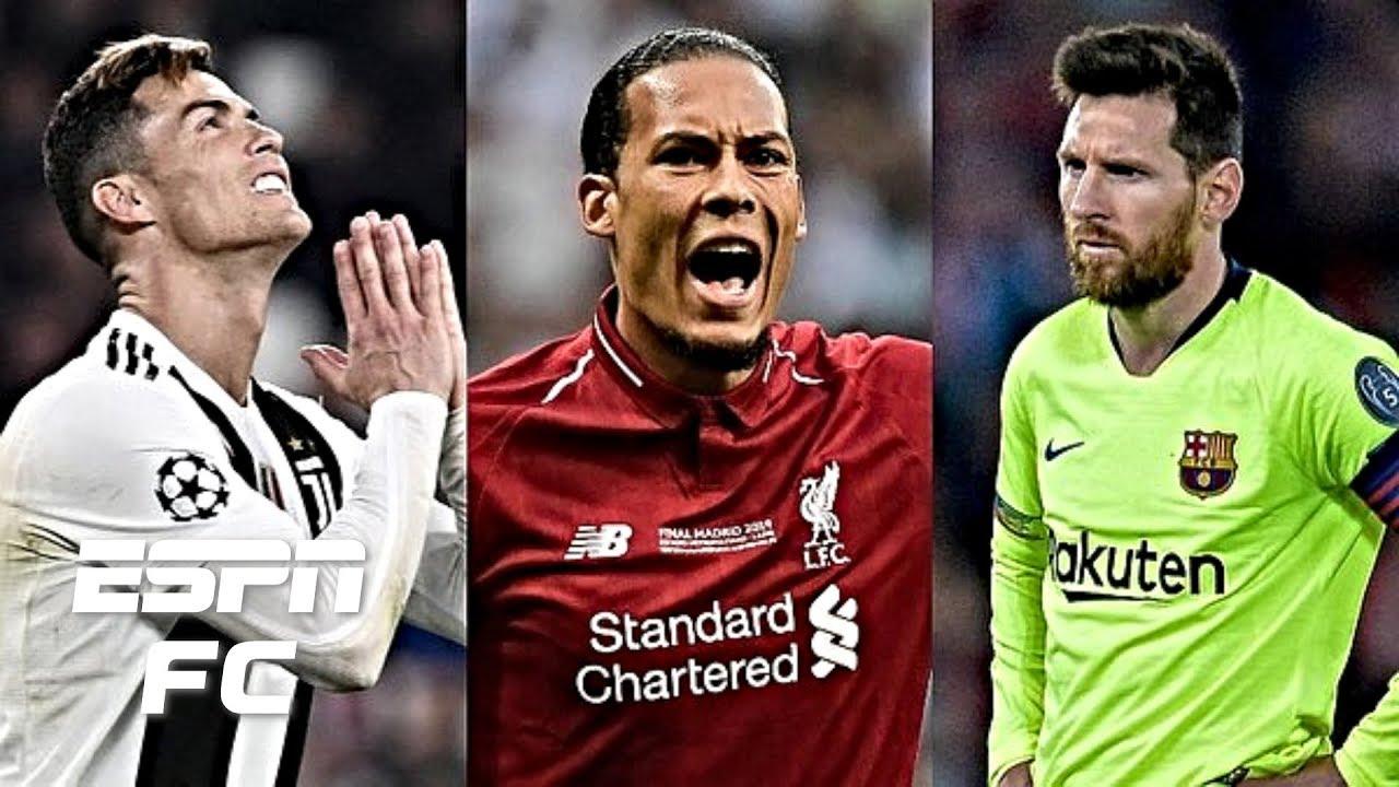 Trao giải Cầu thủ xuất sắc nhất năm của UEFA: Van Dijk chiến thắng Messi, Ronaldo