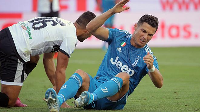 Bong da, bóng đá, ket qua bong da, kết quả bóng đá, Video Parma 0-1 Juventus, kết quả Parma vs Juventus, Parma vs Juventus, Parma vs Juve, Ronaldo, Parma, Juve, VAR, CR7
