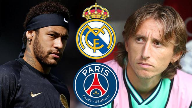 SỐC: Real gửi đề nghị 120 triệu euro kèm Modric để mua Neymar