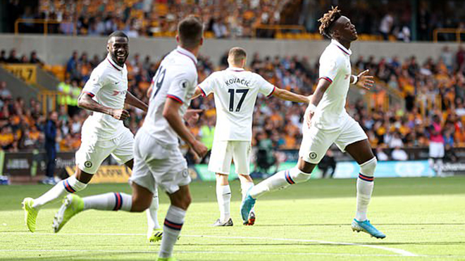 Ket qua bong da, truc tiep bong da, lich thi dau bong da, kết quả Wolves vs Chelsea, Wolves 2-5 Chelsea, kết quả bóng đá ngoại hạng Anh, Chelsea, Abraham