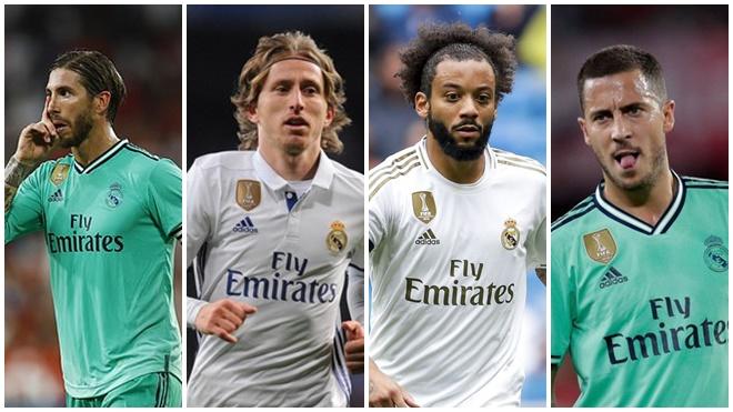 The Best: Real có 4 cầu thủ lọt đội hình tiêu biểu của FIFA bất chấp một năm thảm họa