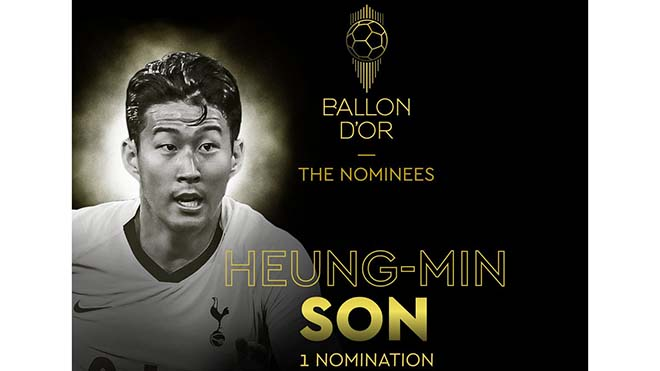 bóng đá, bong da, ket qua bong da, kết quả bóng đá, truc tiep bong da hôm nay, trực tiếp bóng đá, bong da hom nay, Son Heung Min, quả bóng vàng, đề cử quả bóng vàng