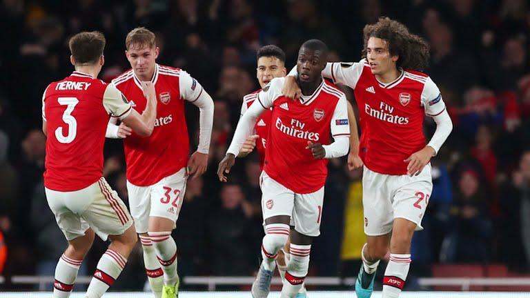 Arsenal 3-2 Guimaraes: Bom tấn Pepe hóa người hùng, 'Pháo thủ' ngược dòng ngoạn mục