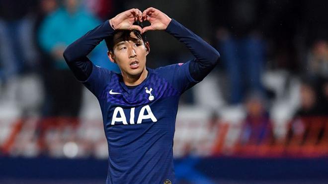 Ket qua bong da, kết quả bóng đá, kết quả cúp C1, Kết quả Sao đỏ vs Tottenham, Son Heung Min, chân sút châu Á vĩ đại nhất, kỷ lục ghi bàn, bong da, bóng đá, Cha Bum Kun