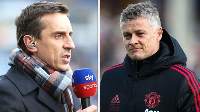 MU: Đang thi đấu tốt, Neville vẫn cảnh báo Solskjaer có thể mất ghế