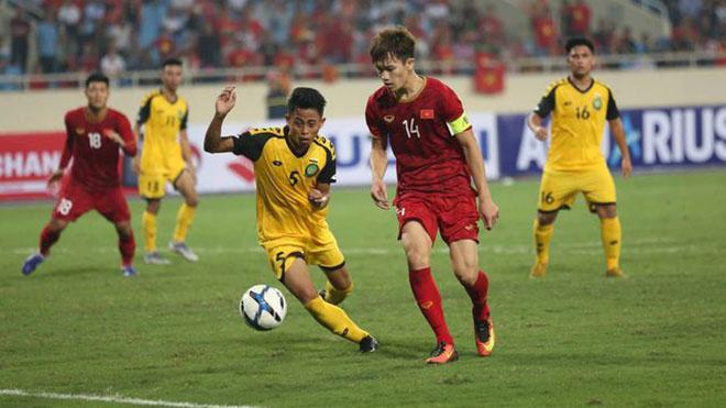 Trực tiếp bóng đá U22 Việt Nam đấu với Brunei, SEA Games 30. Xem VTV6, VTV5, VTV2