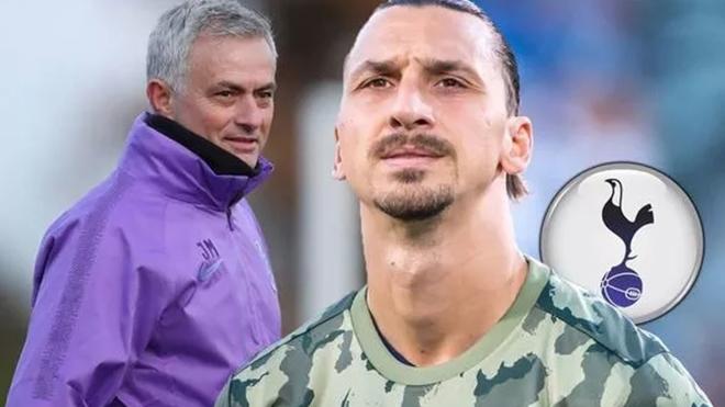 Mourinho gây sốc khi muốn đoàn tụ với Ibrahimovic ở Tottenham