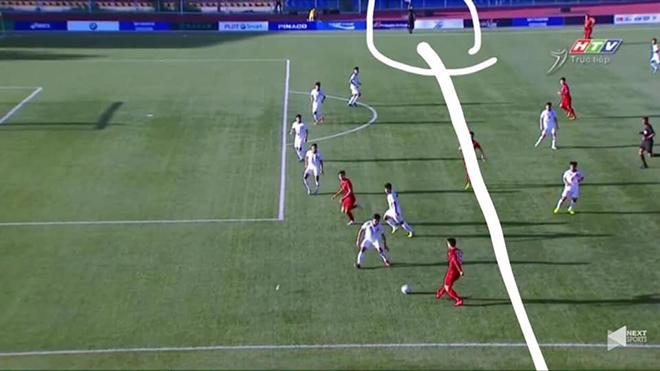 Fan Việt phẫn nộ với cách trọng tài bắt việt vị ở trận U22 Việt Nam thắng Lào 6-1