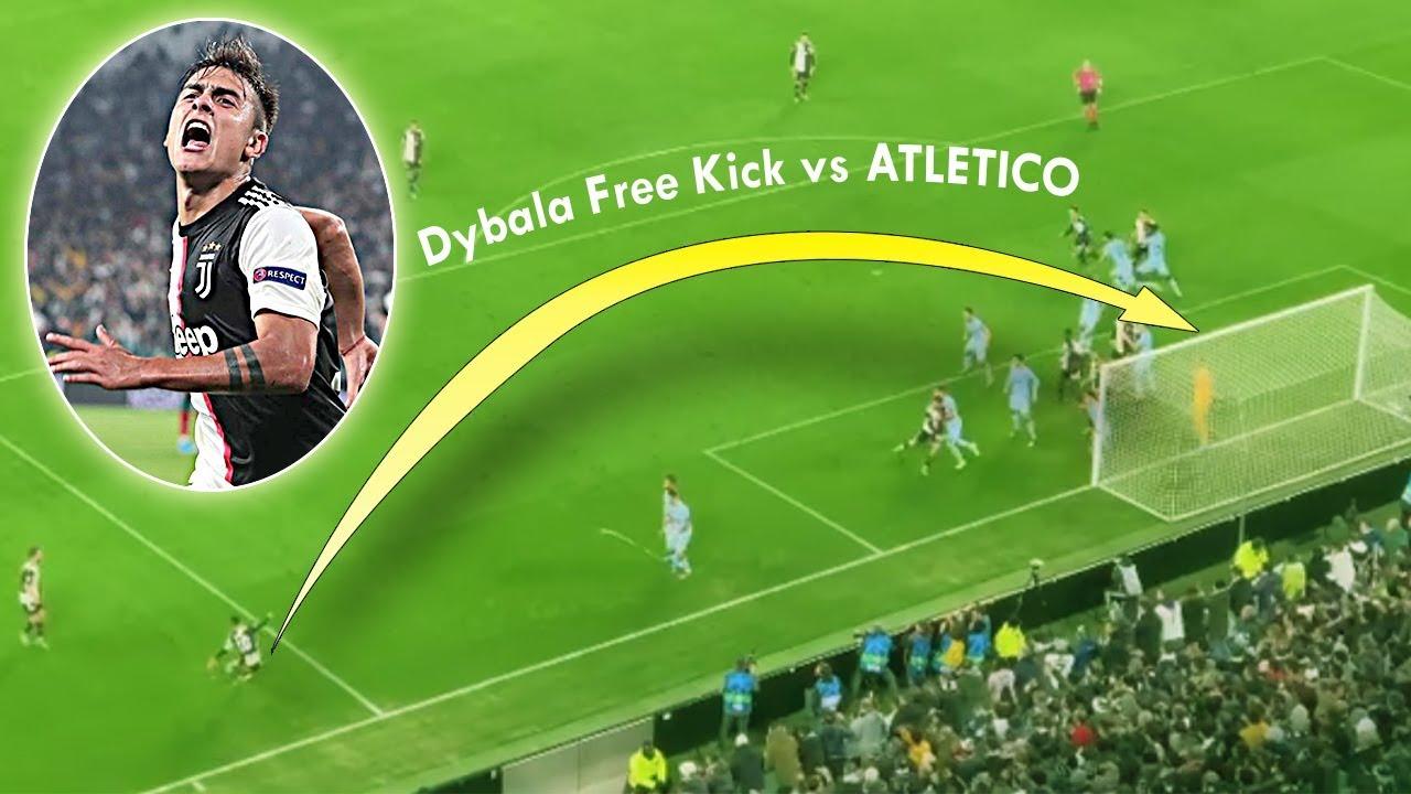 Juventus 1-0 Atletico: Ronaldo có xấu hổ khi xem Dybala sút phạt ghi bàn ở góc hẹp khó tin?