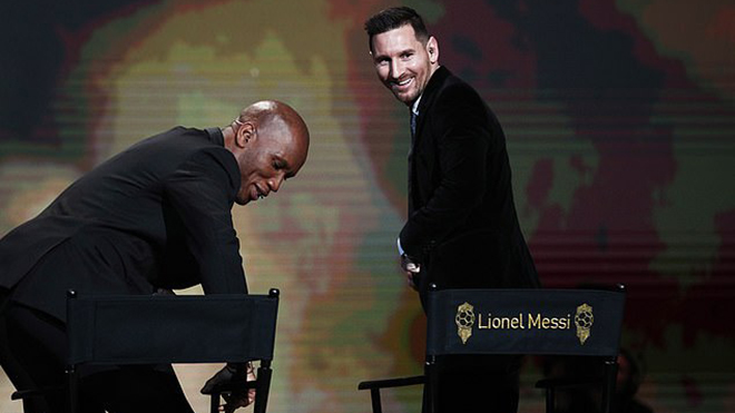 bóng đá, Messi, Messi giành bóng vàng, Messi giành quả bóng vàng thứ 6, trao giải quả bóng vàng, quả bóng vàng 2019, bóng vàng 2019, Van Dijk, Ronaldo, France Football