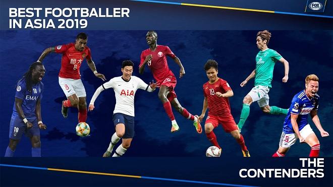 Quang Hải và những điều thú vị từ danh sách cầu thủ xuất sắc nhất châu Á 2019