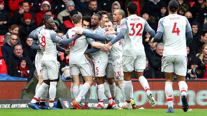 truc tiep bong da hôm nay, Bournemouth vs Liverpool, trực tiếp bóng đá, truc tiep bong da, bong da, xem bóng đá trực tuyến, Liverpool đấu với Bournemouth, K+, K+NS