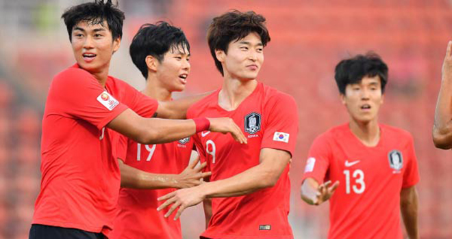 VTV6, truc tiep bong da, U23 Hàn Quốc vs Australia, Hàn Quốc vs Úc, Hàn Quốc vs Australia, lịch thi đấu bán kết U23 châu Á, lich thi dau bong da hom nay, bong da, bóng đá