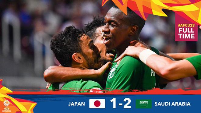 U23 Nhật Bản 1-2 U23 Saudi Arabia: Nhật Bản trắng tay ngay ngày ra quân