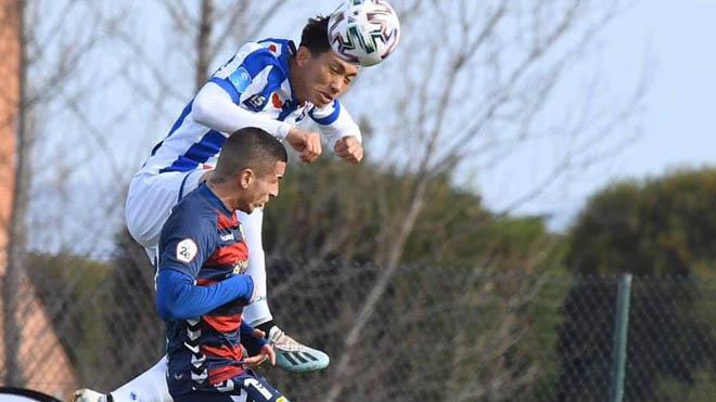 Văn Hậu đá trận thứ hai liên tiếp cho SC Heerenveen