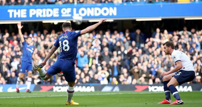 Ket qua bong da Anh, Chelsea 2-1 Tottenham, kết quả ngoại hạng Anh vòng 27, bảng xếp hạng bóng đá Anh, bang xep hang bong da, lich thi dau bong da hom nay, Chelsea, MU