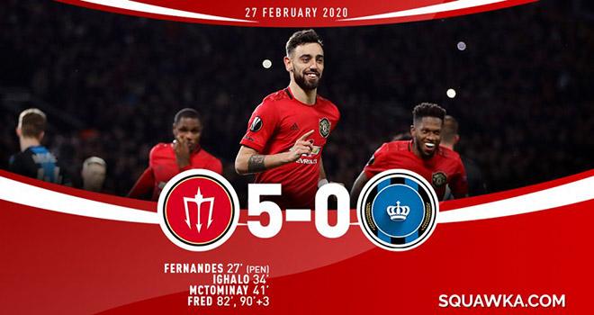 Bong da, bong da hom nay, tin tuc bong da hom nay, ket qua bong da, MU 5-0 Brugge, kết quả bóng đá hôm nay, kết quả cúp C2 châu Âu, Arsenal bị loại, tin tuc bong da