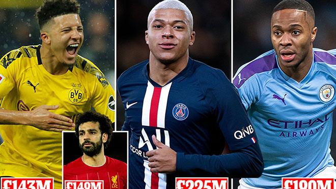 4 cầu thủ Anh có tên trong Top 5 cầu thủ giá trị nhất thế giới