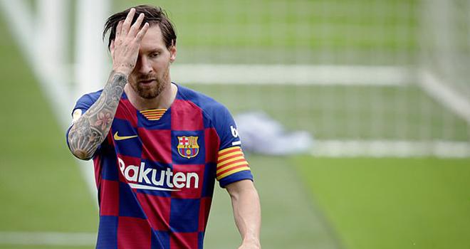 Bong da. Chuyển nhượng bóng đá. Messi rời Barcelona. Messi chia ...
