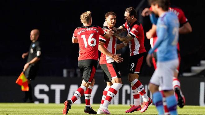 Ket qua bong da, Video clip Southampton 1-0 Man City, Kết quả bóng đá Man City, kết quả bóng đá Anh, kết quả Ngoại hạng Anh, bảng xếp hạng bóng đá Anh vòng 33